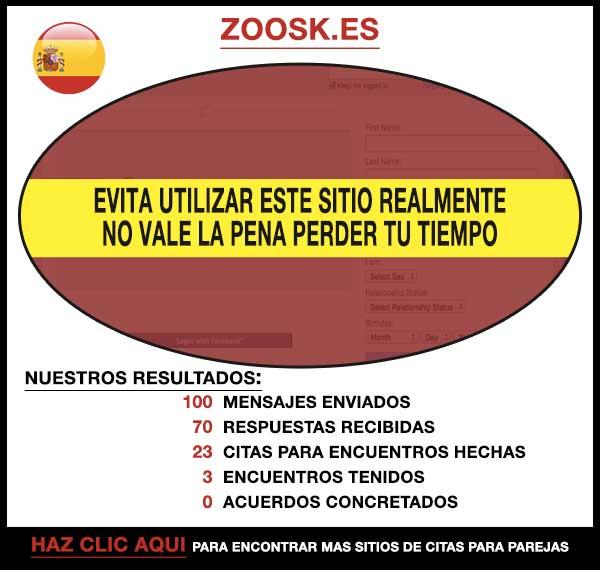 Zoosk.com Vista Previa
