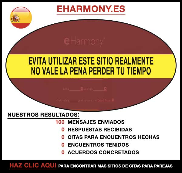 eHarmony.com Vista Previa