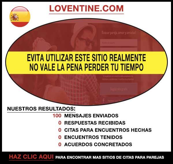Loventine.com Vista Previa
